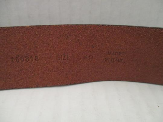 Banana Republic Leather Brushed Bronze Belt Image 2
