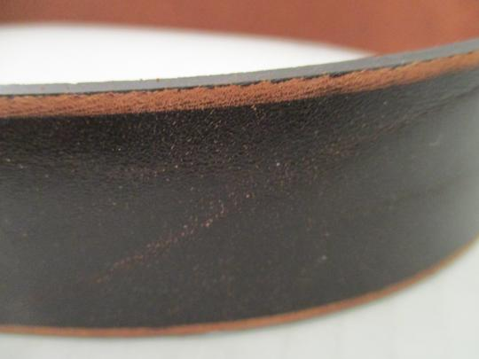 Banana Republic Leather Brushed Bronze Belt Image 3