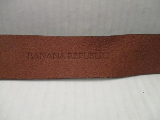 Banana Republic Leather Brushed Bronze Belt Image 5