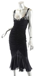 Emanuel Ungaro Paris Evening Lace Dress