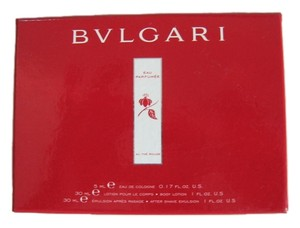 BVLGARI BVLGARI Eau Parfumee Au The Rouge 3pc. Travel Set
