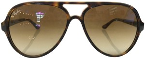 Ray-Ban Ray Ban Tortoise Aviator RB 4125 CATS 5000 710/51 2N