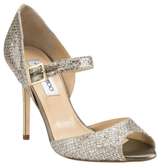 Preload https://img-static.tradesy.com/item/22782804/jimmy-choo-champagne-silver-247-lace-mary-jane-glitter-classic-pumps-sandals-is-85-us-formal-shoes-s-0-1-540-540.jpg