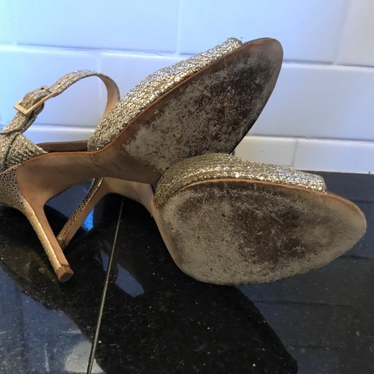 Jimmy Choo Champagne Silver Formal Image 4