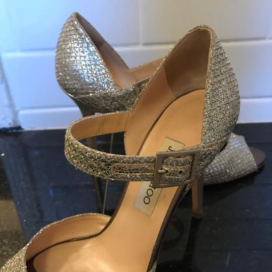 Jimmy Choo Champagne Silver Formal Image 6