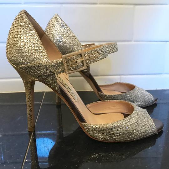 Jimmy Choo Champagne Silver Formal Image 8