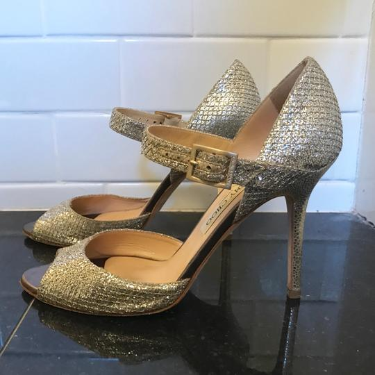 Jimmy Choo Champagne Silver Formal Image 9