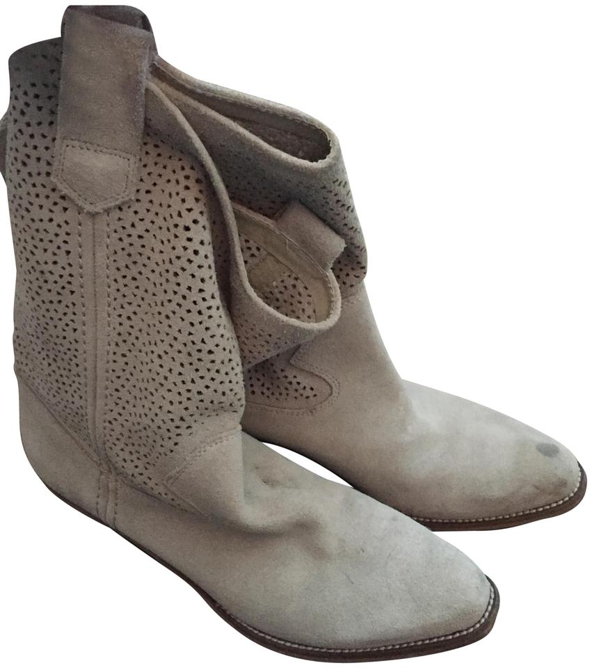 WOMEN Suede Tan Suede WOMEN Cowboy Boots/Booties Year-end sales f76b0d