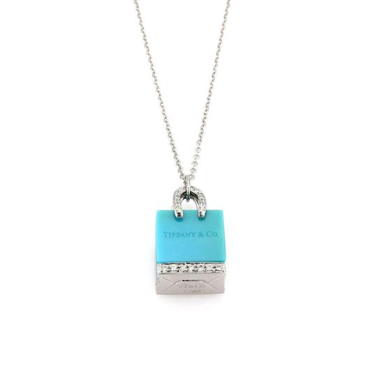 Preload https://img-static.tradesy.com/item/22782882/tiffany-and-co-21927-shopping-bag-diamond-platinum-turquoise-pendant-necklace-0-0-540-540.jpg