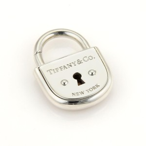 Tiffany & Co. - Arc Pad Lock Sterling Silver Charm Pendant
