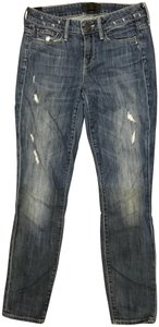 Vince Distressed Wash Relaxed Fit Jeans-Distressed