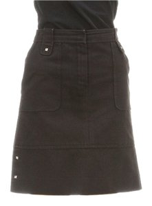 Louis Vuitton Mini Skirt Black