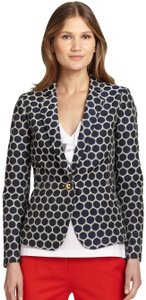 Kate Spade Classic Polka Dot Cream and Navy Blazer