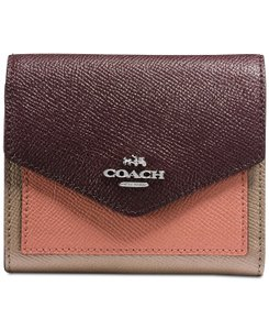 Coach COACH Small Wallet in Colorblock Leather