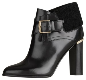 Burberry Shearling Leather Black Boots
