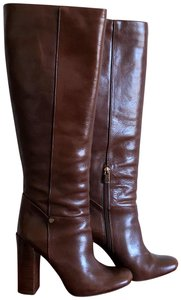 Tory Burch Sienna Christal Veg Leather SIENNA-BROWN Boots