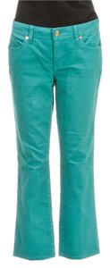 Tory Burch Boot Cut Jeans-Light Wash