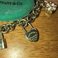 Tiffany & Co. Tiffany icons lock charm bracelet Image 4