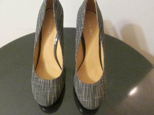 Nine West 9west Heels Sexy Classy High Heels Medium Gray Pumps