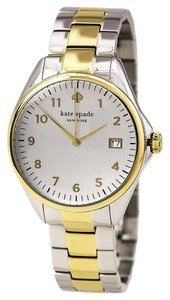 Kate Spade Kate Spade Two Tone Seaport Grand Watch 1YRU0093
