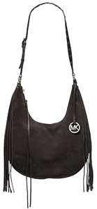 Michael Kors Zip Tassel Boho Winter Charm Shoulder Bag