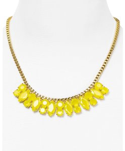 Kate Spade YELLOW Marquee Short Necklace