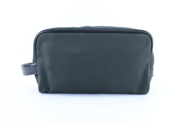 Item - Cosmetic Pouch Palana Taiga 11lr0119 Green Leather Clutch