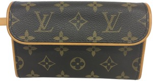 Louis Vuitton Lv Monogram Florentine Canvas Cross Body Bag