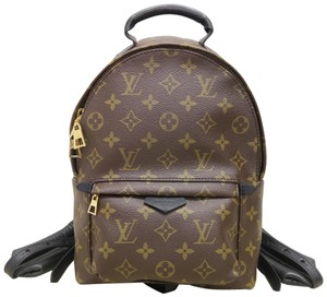 Louis Vuitton Lv Canvas Pm Palm Springs Backpack
