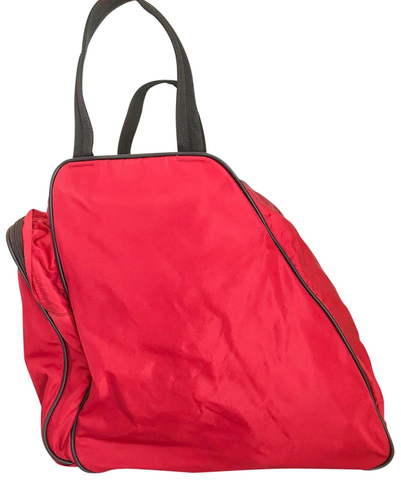 1597bdf6ad53 Prada Travel Bag Red | Stanford Center for Opportunity Policy in ...