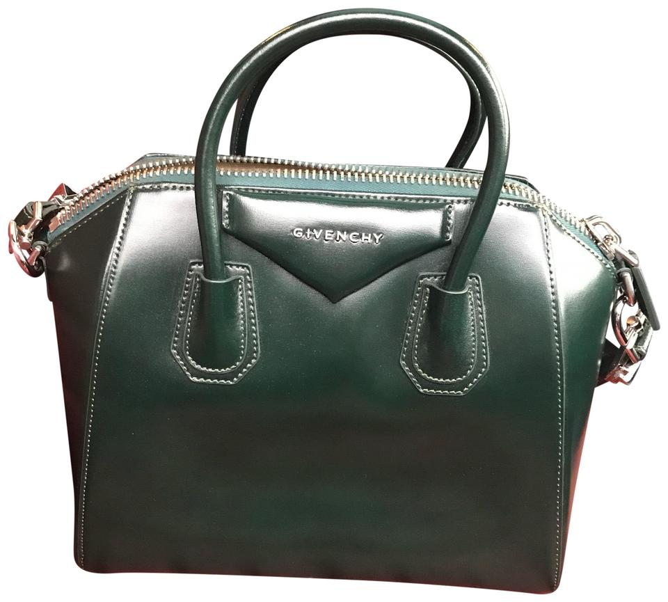 19c0acfa4a Givenchy Antigona Dark Green Satchel - Tradesy