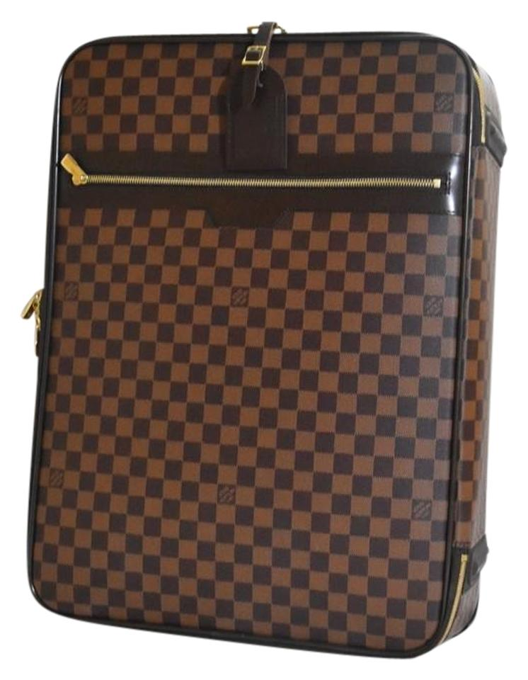 eceebee745cc Louis Vuitton Damier Luggage Protective Cover Pegase Canvas Weekend Travel  Bag