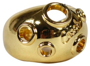 Coach Coach Gold Bridget Cushion Ring size 6
