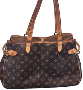 Louis Vuitton Tote in Brown Canvas/leather