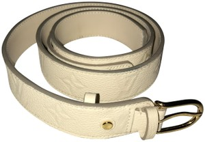 Louis Vuitton Louis Vuitton Monogram Leather Belt