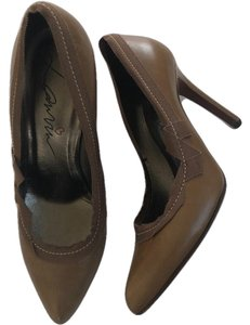 Lanvin brown/olive Pumps