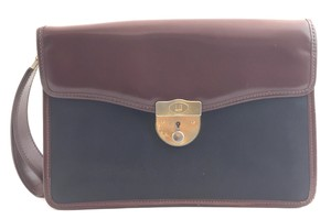 Alfred Dunhill #9190 brown black Clutch