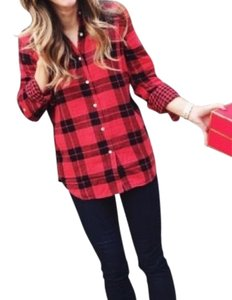 Joe Fresh Button Down Shirt Plaid