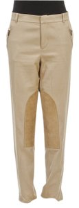 Ralph Lauren Straight Pants Tan