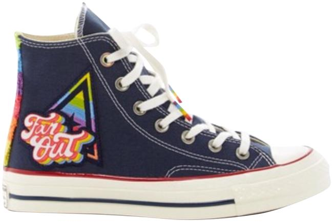 Item - Navy Chuck Taylor All Star Sneakers Size US 6.5 Regular (M, B)