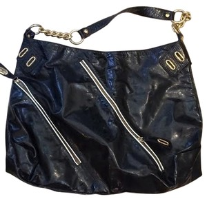 Goldenbleu Patent Leather Patent Shoulder Bag
