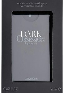 Calvin Klein DARK OBSESSION BY CALVIN KLEIN FOR MEN-EDT-0.67 OZ-20 ML-USA