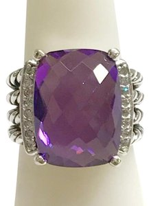 David Yurman David Yurman Wheaton Amethyst Ring