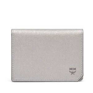 MCM leather card case