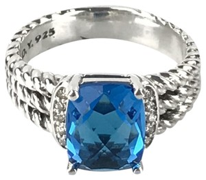 David Yurman Blue Topaz Petite Wheaton