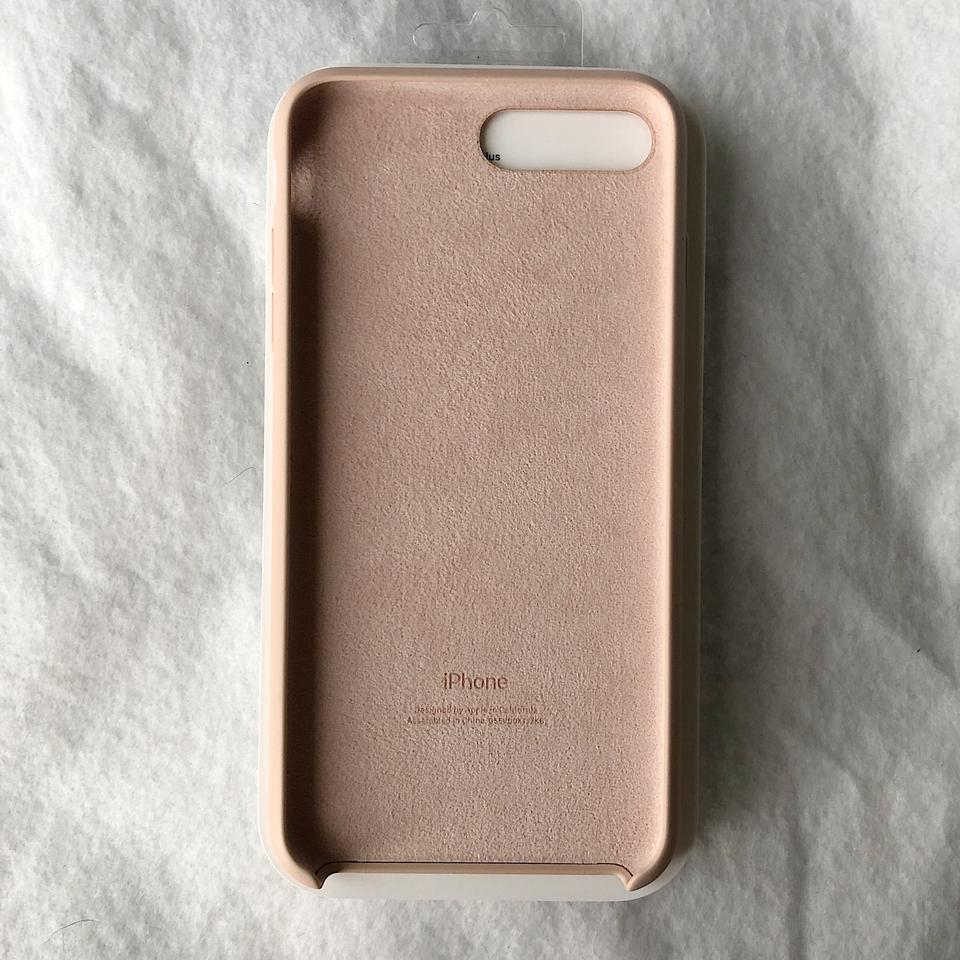 promo code 36bac 88635 Apple Pink Sand Iphone 8 Plus / 7 Plus Silicone Case Tech Accessory 23% off  retail