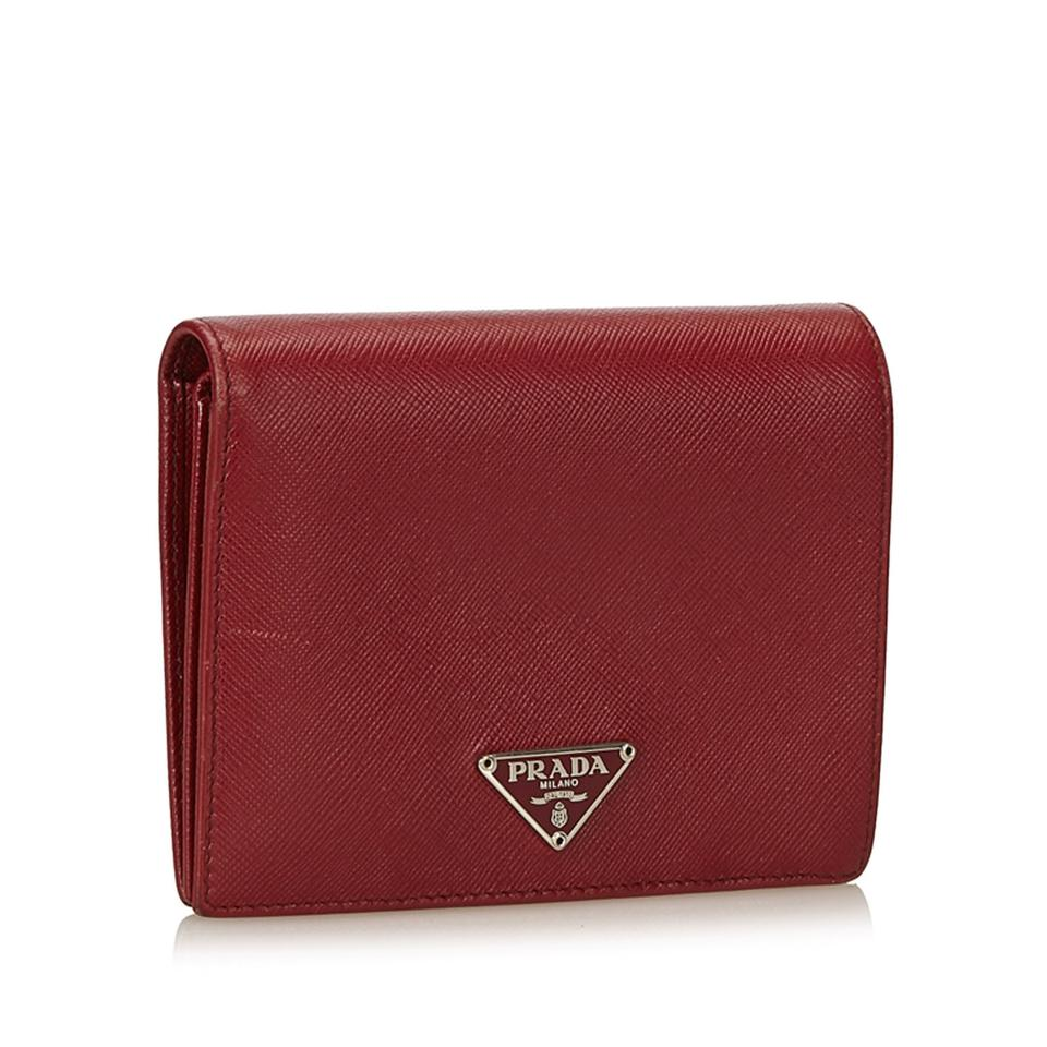 8e0f0ed02ba5 Prada Small Wallet Red | Stanford Center for Opportunity Policy in ...