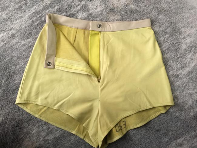 Kieley Kimmel Mini/Short Shorts Yellow