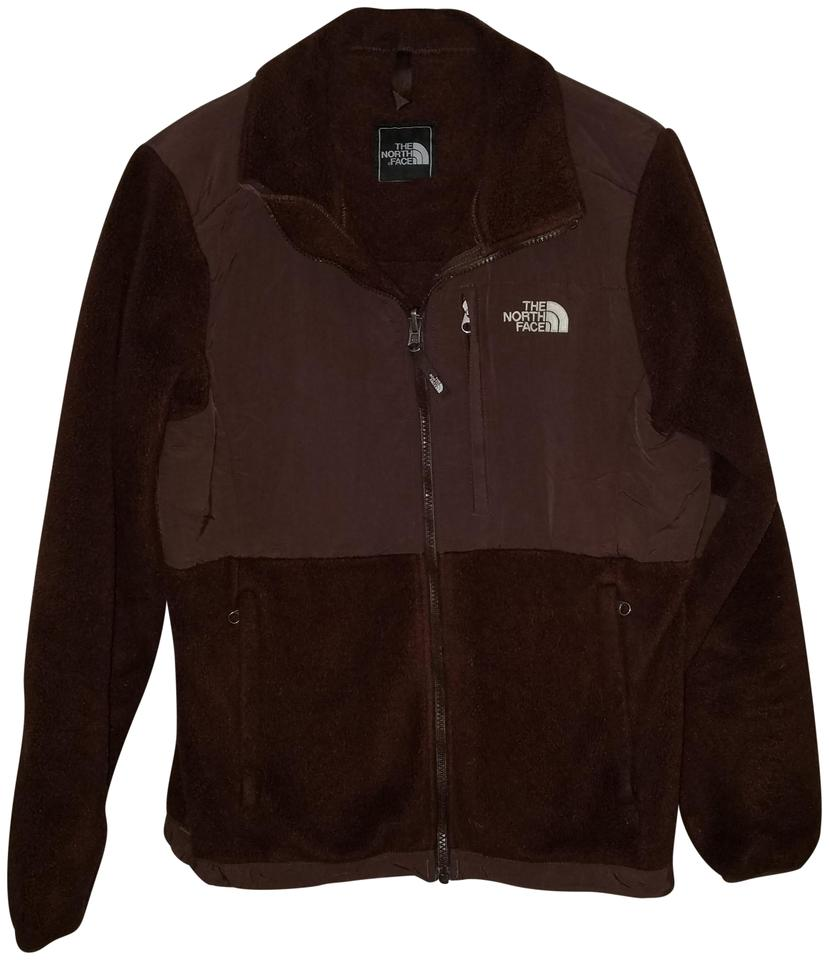 478fb5f5d1 The North Face Brown Fleece Zip Up Jacket Activewear Size 10 (M ...