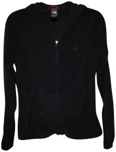The North Face Northface Black Hooded Zip Up Jacket